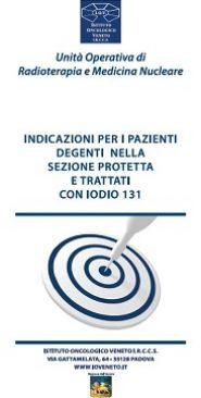 Indicazioni per i pazienti degenti nella sezione protetta e trattati con iodio 131