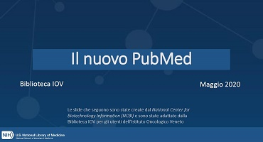 Il Nuovo PubMed